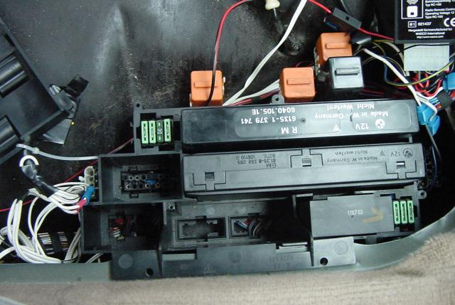 BMW E32 Modules and Electronics