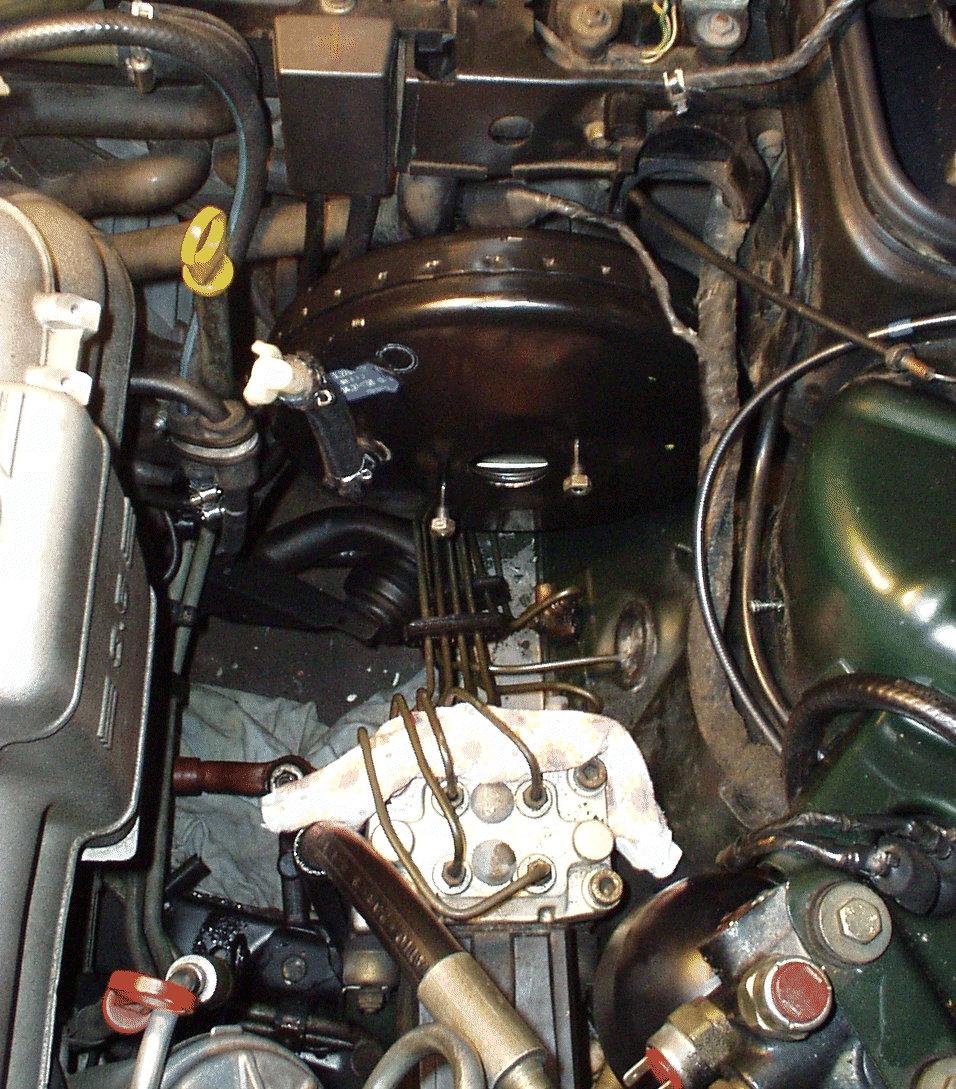BMW E32 - Brake Booster Vacuum Retrofit