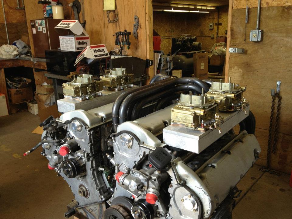 Twin BMW M73b54 Engines in W24 Hot Rod Madness!
