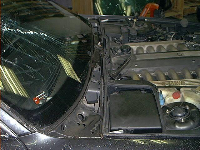 как снять фару BMW e32